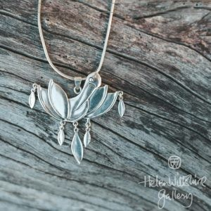 Pelican Pendant w Sterling Silver Chain
