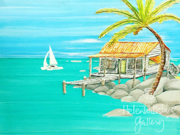 Island Cottage by Ben Wiltshire