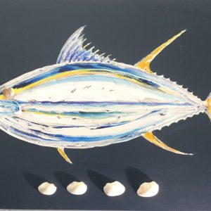 Tuna Shells by Ben Wiltshire Acrylic on Canvas