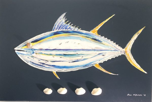 Tuna Shells by Ben Wiltshire Acrylic on Canvas