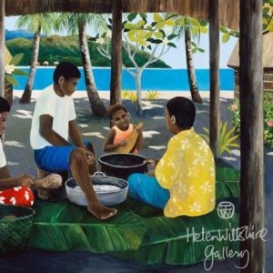 Waya Island Kitchen by Diana Crooke